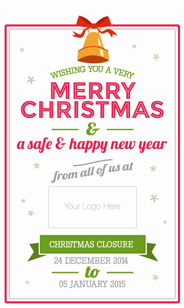 Business Hours Sign Template Beautiful Do Your Customers Know Your Opening Hours Over Christmas