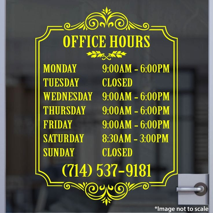 Business Hours Sign Template Free Beautiful 25 Best Ideas About Business Hours Sign On Pinterest