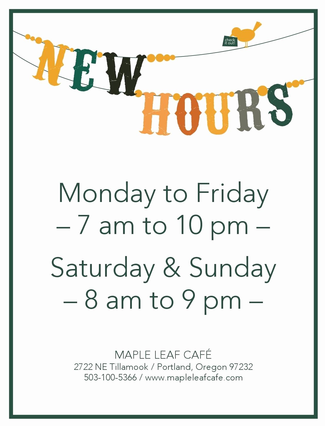 Business Hours Sign Template Free Inspirational Cancel Save