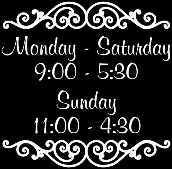 Business Hours Sign Template Free Lovely Best 25 Business Hours Sign Ideas On Pinterest