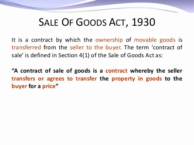 Business Law Case Study Examples Best Of Business Law Sales Of Goods Act Case Stu S
