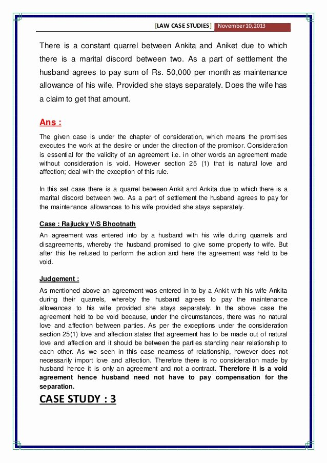 Business Law Case Study Examples New Case Study Examples for Mba Students Pdf Reportd24 Web