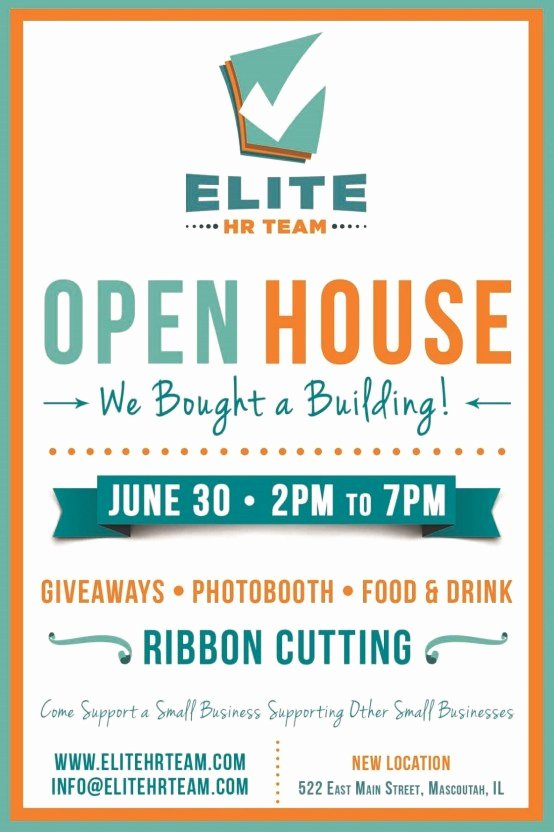 Business Open House Flyer Template Best Of 6 Open House Flyer Templates Website Wordpress Blog