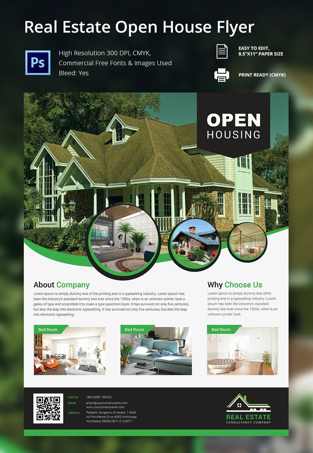 Business Open House Flyer Template Unique 135 Psd Flyer Templates – Free Psd Eps Ai Indesign