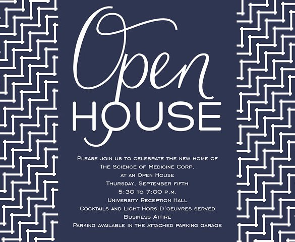 Business Open House Invitation Wording Awesome 14 Open House Invitation Templates Free Psd Vector Eps