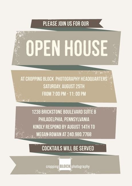 Business Open House Invitation Wording Awesome Business Open House Invitation Template Templates