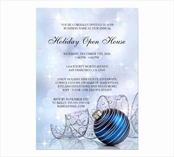 Business Open House Invitation Wording Beautiful 19 Business Invitation Designs & Examples Psd Ai