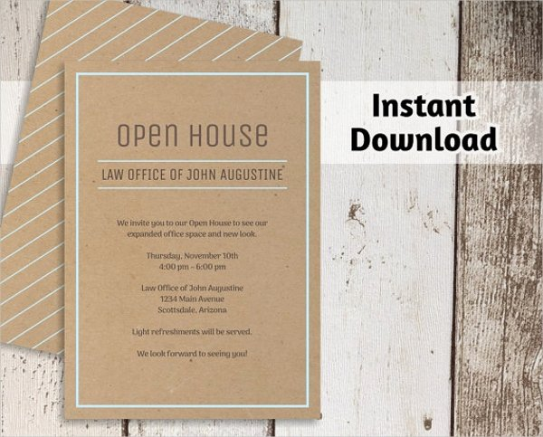 Business Open House Invitation Wording Elegant 34 Invitation Templates Word Psd Ai Eps