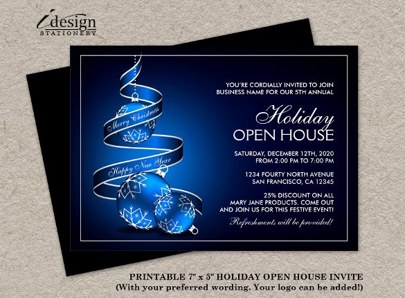 Business Open House Invitation Wording Inspirational 23 Business Invitation Templates – Free Sample Example