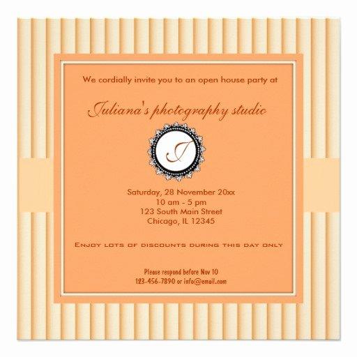 Business Open House Invitation Wording Luxury Open House New Business 5 25x5 25 Square Paper Invitation