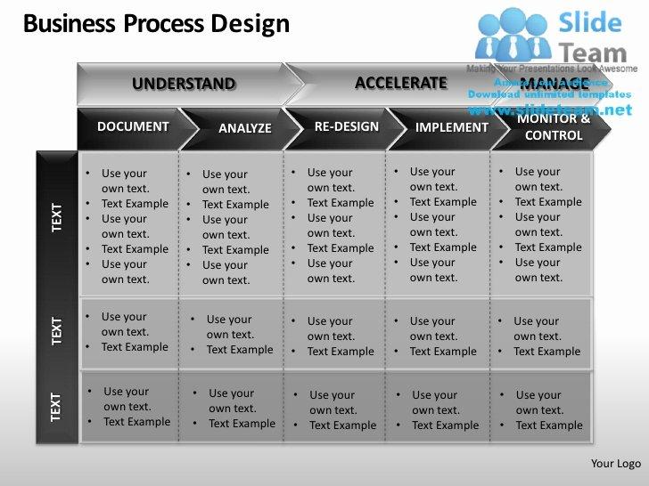 Business Process Template Word Beautiful Business Process Design Powerpoint Presentation Slides Ppt