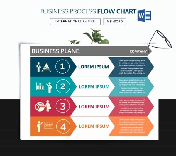 Business Process Template Word Inspirational 44 Flow Chart Templates Free Sample Example format