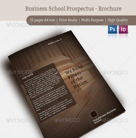 Business Prospectus Example Best Of 20 Beautiful College Brochure Templates