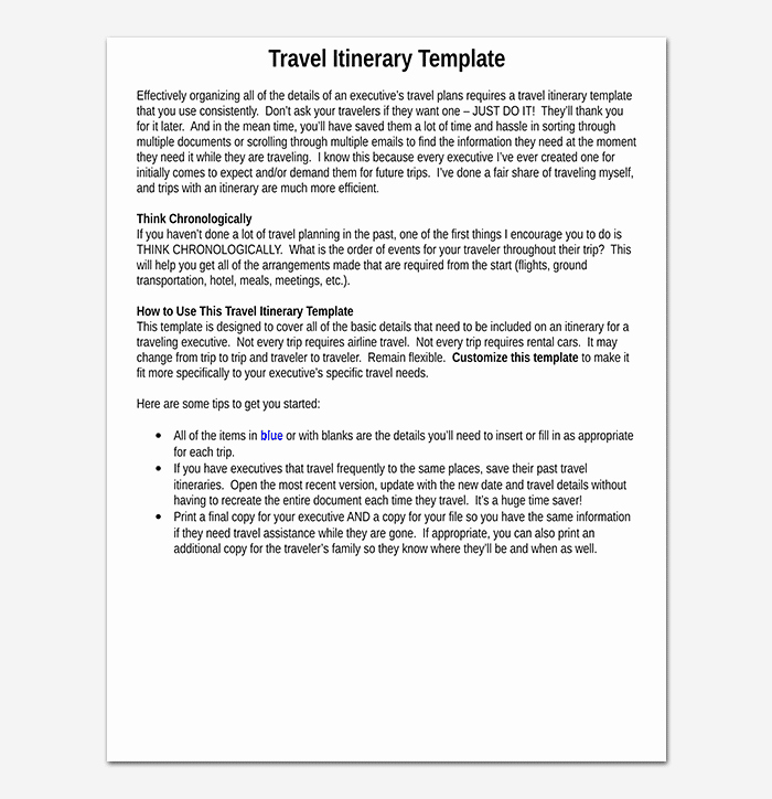 Business Trip Itinerary Template Awesome Business Travel Itinerary Template 23 Word Excel & Pdf
