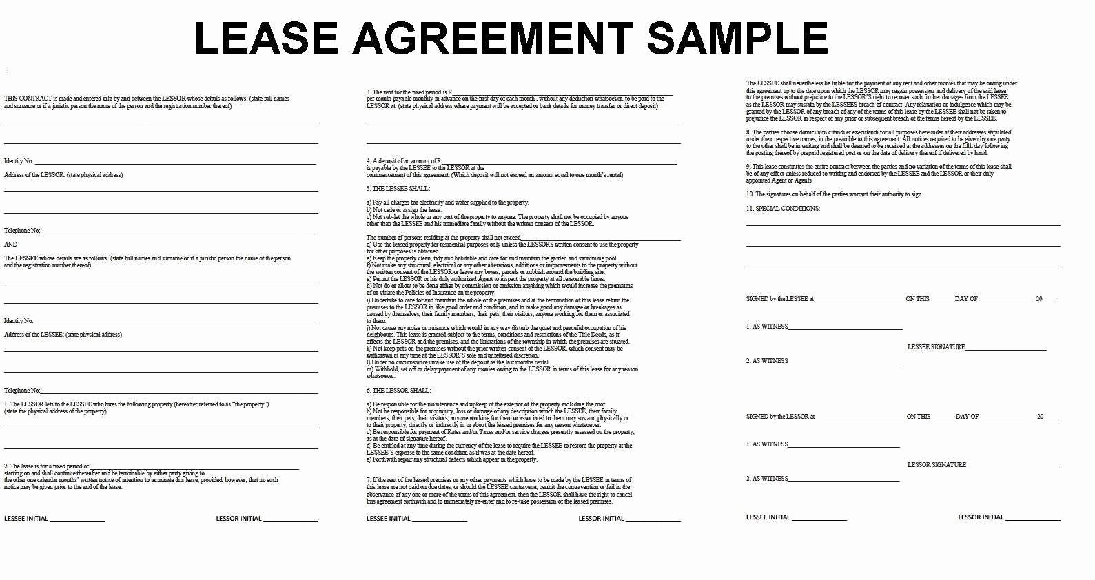 Buyout Agreement Template Beautiful Lease Buyout Agreement form