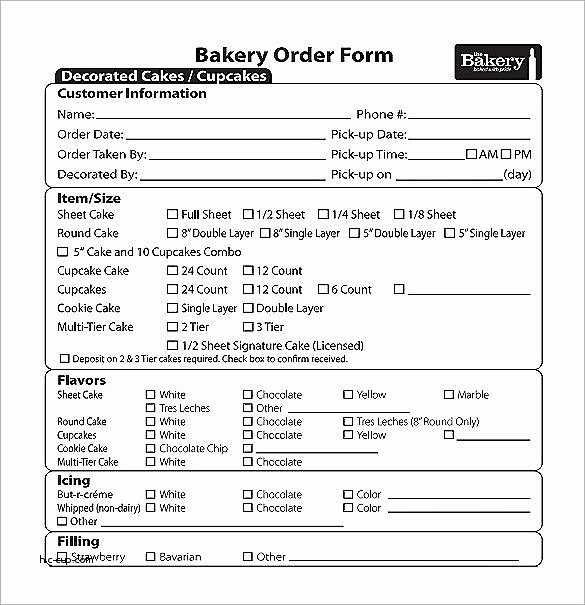 Cake order form Template Word Beautiful Costco Cake order form 2016 Archives Hashtag Bg