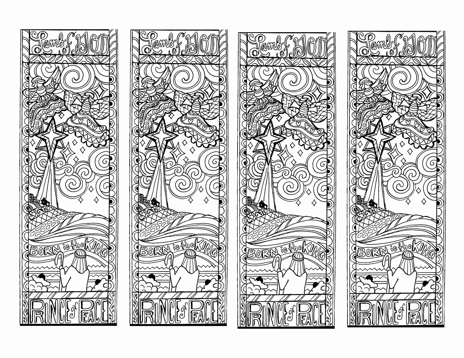 Calendar Bookmark Template Awesome Free Printable Reading Bookmarks Black and White