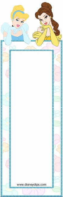 Calendar Bookmark Template Fresh Disney Princess Printables