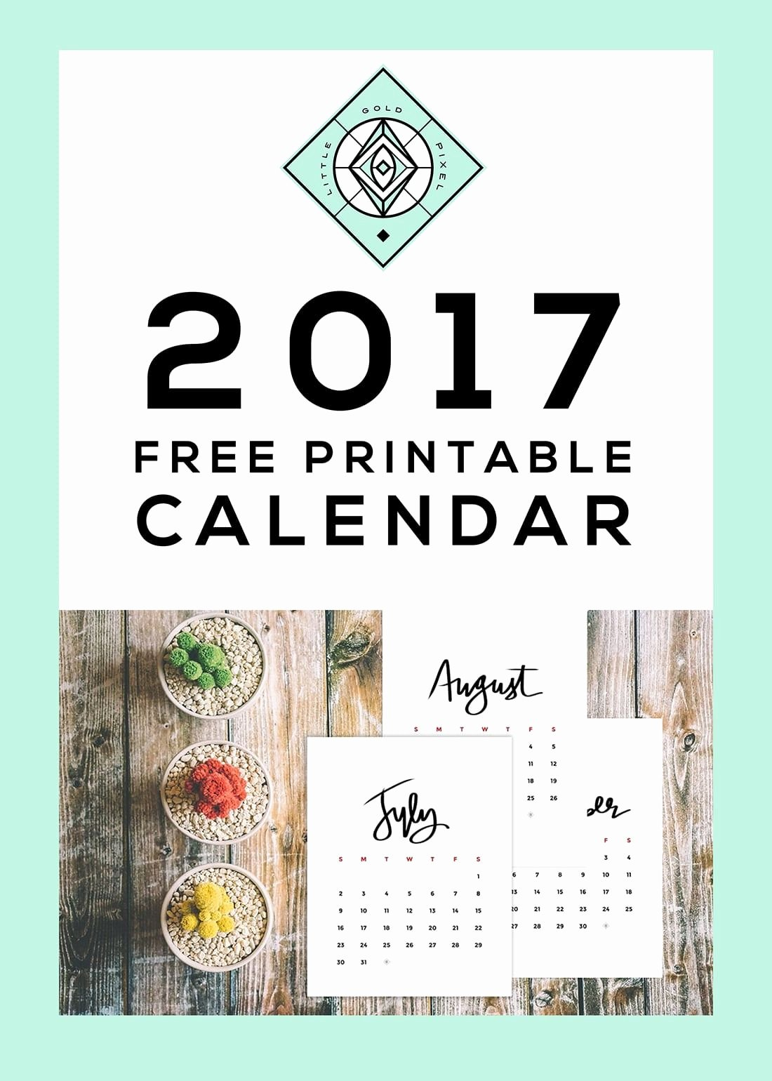 Calendar Bookmark Template Unique 2017 Printable Calendar Free Download Craft