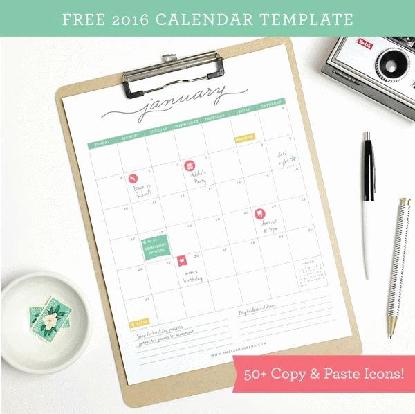 Calendar Template for Pages Mac Inspirational 1000 Ideas About Free Calendar Template On Pinterest