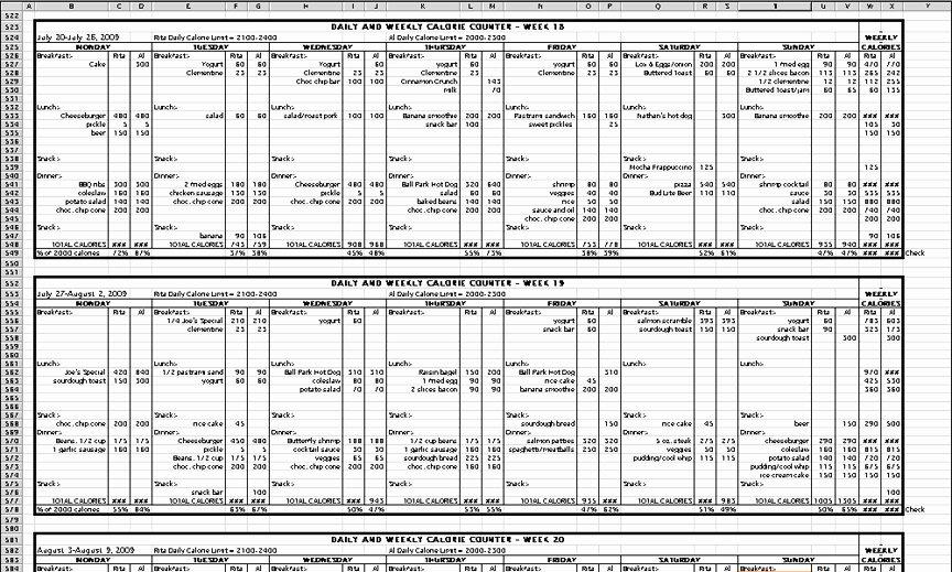 Calorie Counter Spreadsheet Beautiful Calorie Counting Spreadsheet Template – Ebnefsi