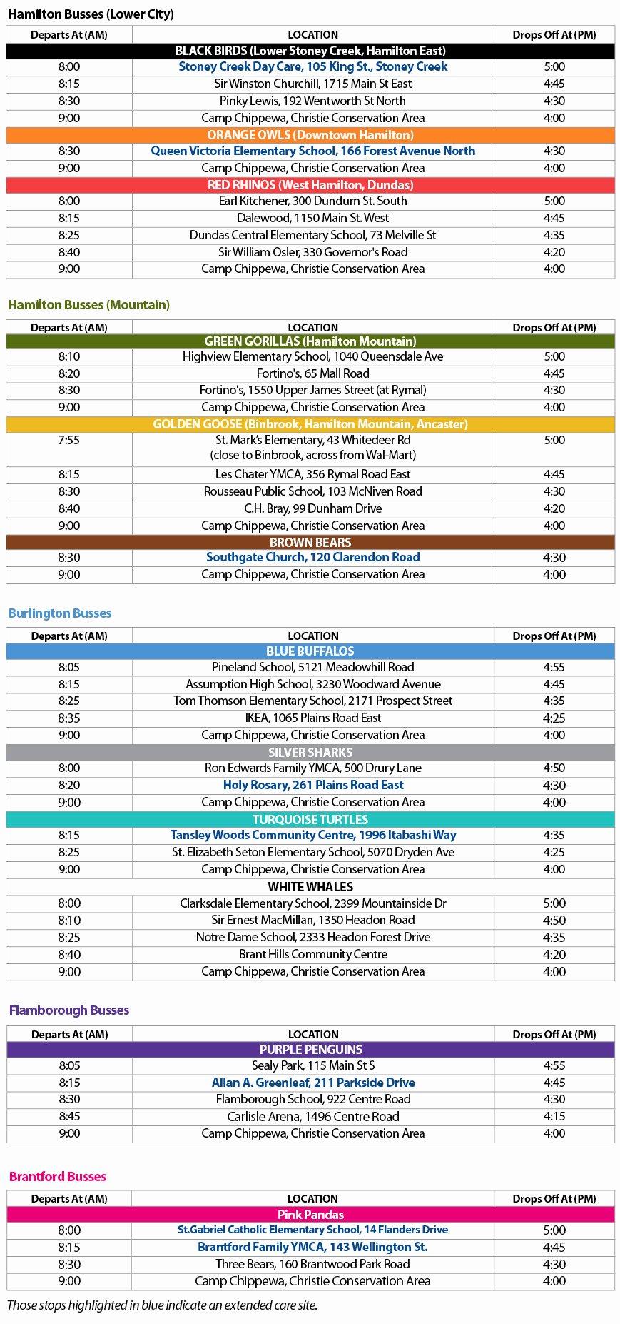 Camp Schedule Template Elegant Camp Agenda Reverse Search