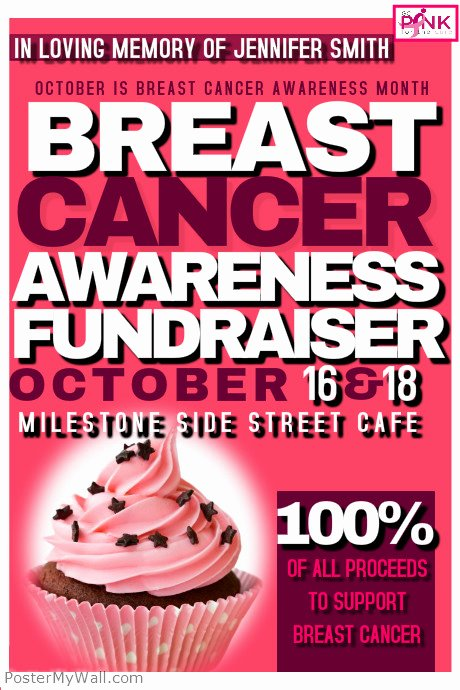 Cancer Benefit Flyer Ideas Fresh Breast Cancer Awareness event Template