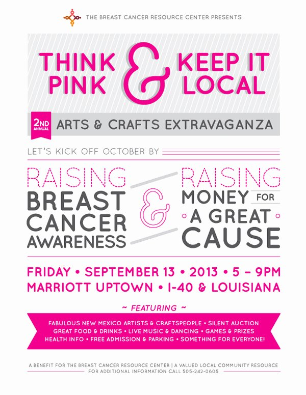 Cancer Benefit Flyer Ideas New Breast Cancer event Flyer On Behance