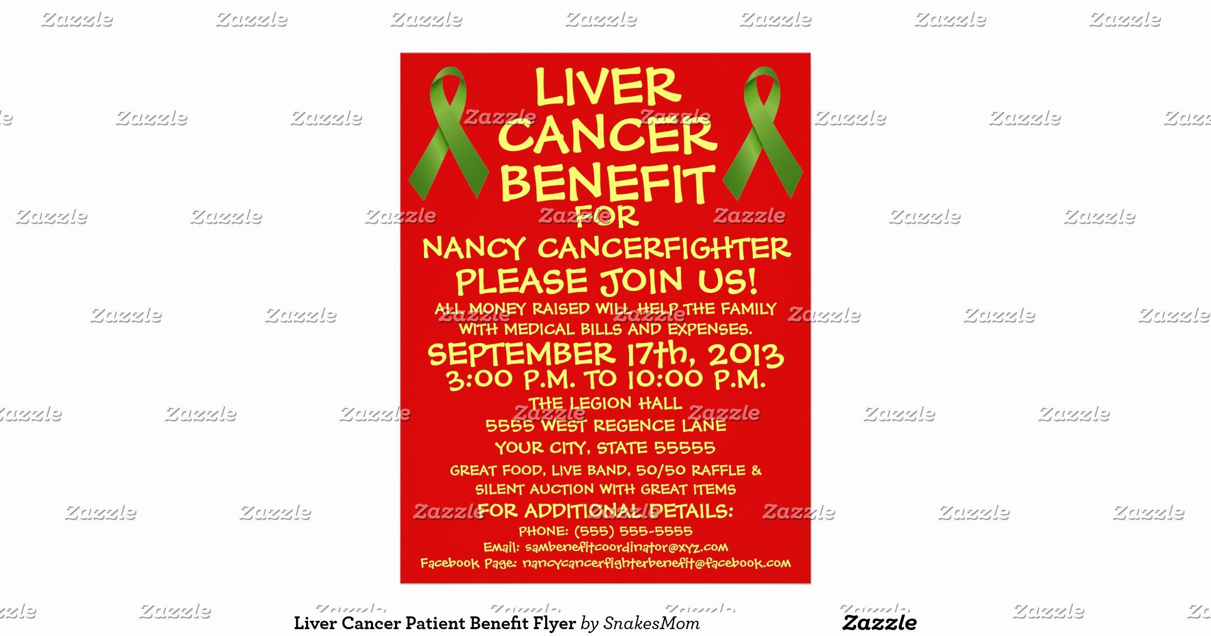Cancer Benefit Flyer Ideas Unique Liver Cancer Patient Benefit Flyer
