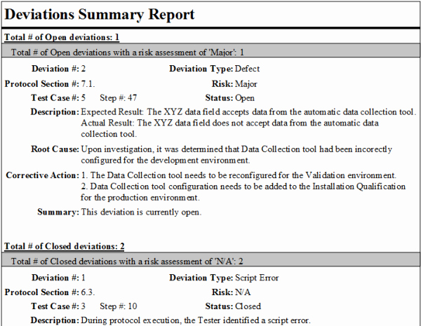 Capa Report Template Inspirational 15 Of Deviation Report Template