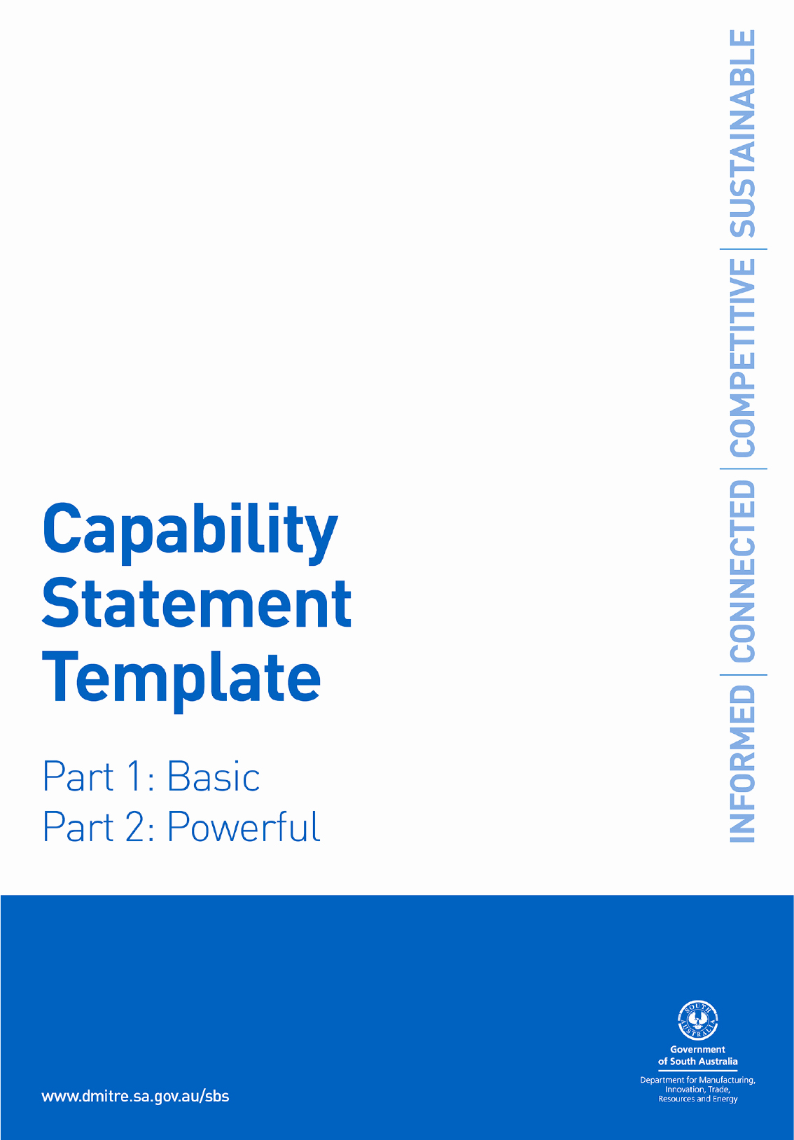 Capability Statement Template Doc New Capability Statement Template In Word and Pdf formats