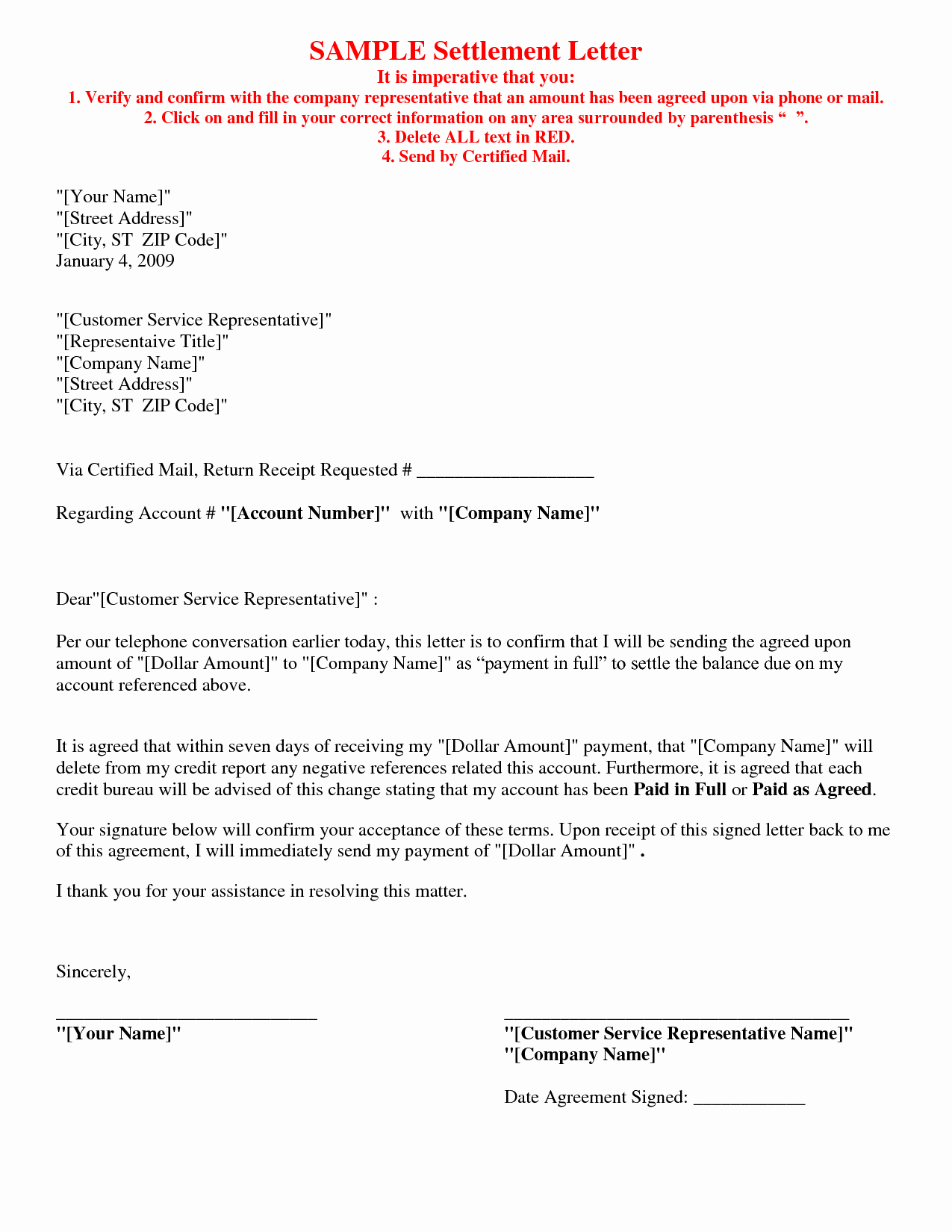 Car Accident Payment Agreement Sample Elegant Picture 5 Of 17 Debt Settlement Agreement Letter