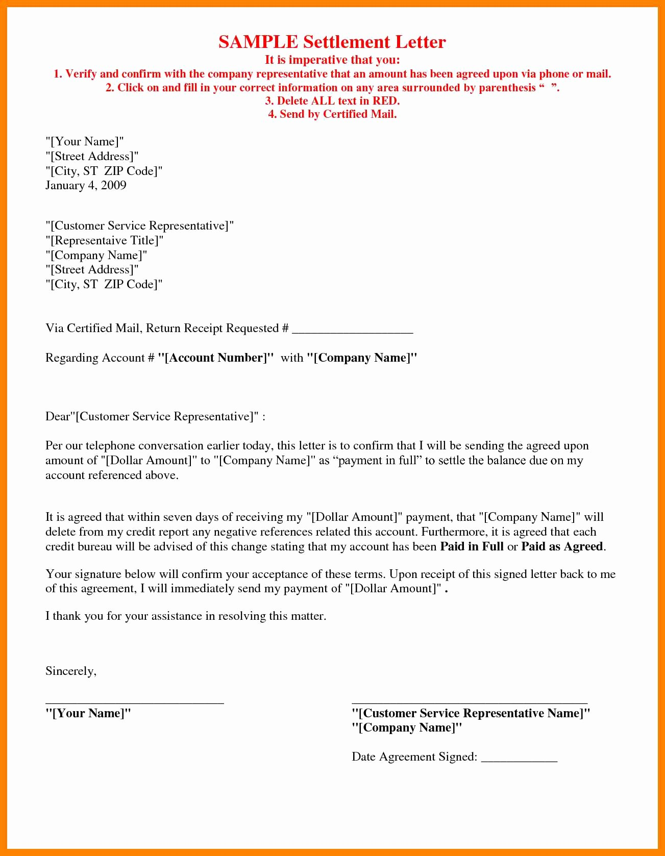 Car Accident Settlement Agreement Sample Elegant Car Accident Settlement Letter Template Samples