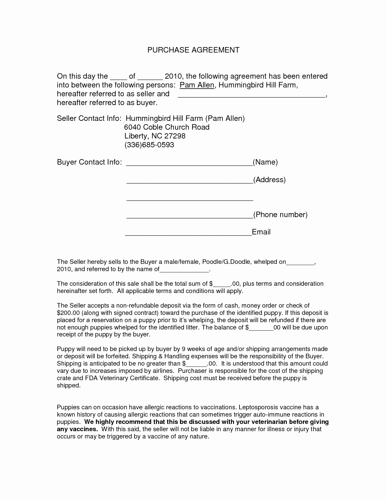 Car Deposit Agreement Lovely Auto Purchase Agreement form Doc by Nyy Purchase
