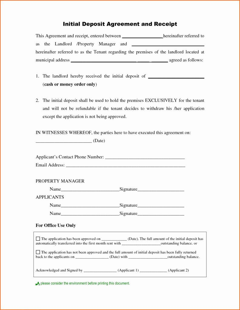 Car Deposit Contract Template Best Of Best Pnb Saving Account Opening form Pdf Models form