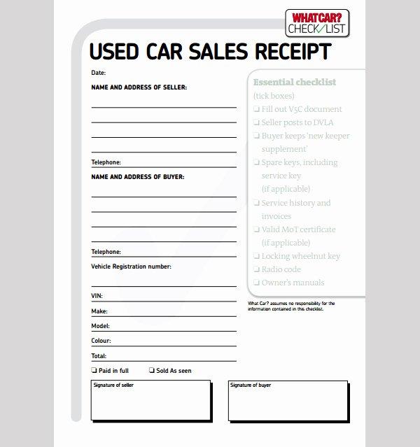 Car Deposit Receipt Word Lovely Car Sales Receipt Cake Ideas and Designs