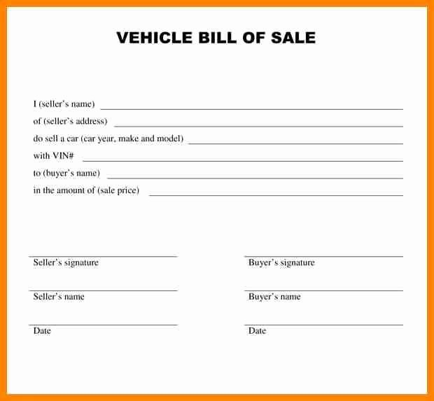 Car Deposit Receipt Word Luxury 28 Basic Car Sale Agreement Word Doc Au O