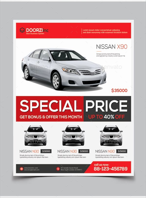 Car for Sale Flyer Template Best Of 14 Car for Sale Flyer Templates