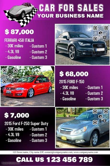 Car for Sale Flyer Template Best Of 41 Best Images About Car Dealer Flyer Diy On Pinterest
