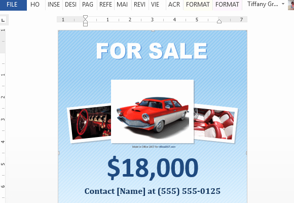 Car for Sale Flyer Template Best Of 5 Free Car for Sale Flyer Templates Excel Pdf formats