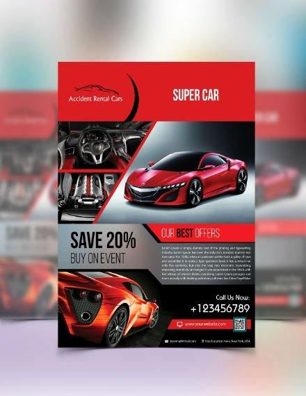 Car for Sale Flyer Template Best Of 8 Automotive Car Sales Flyer Templates
