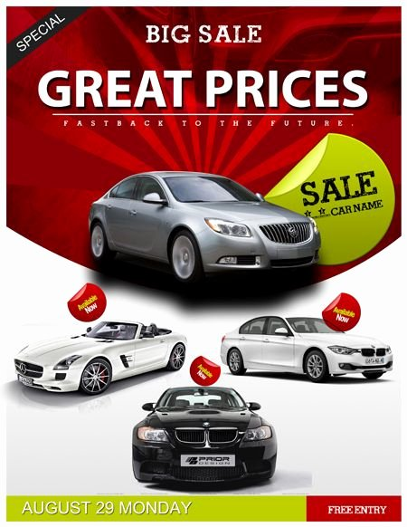 Car for Sale Flyer Template Best Of Auto Sales Flyer Template Car Sales Psd Flyer Template