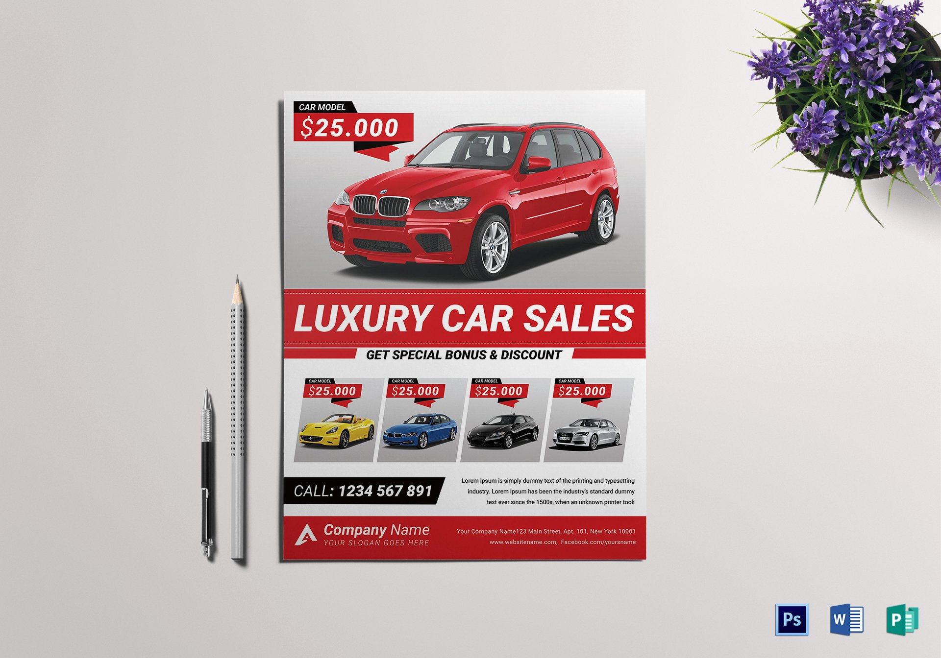 Car for Sale Flyer Template Fresh Car for Sale Flyer Design Template In Word Psd Publisher