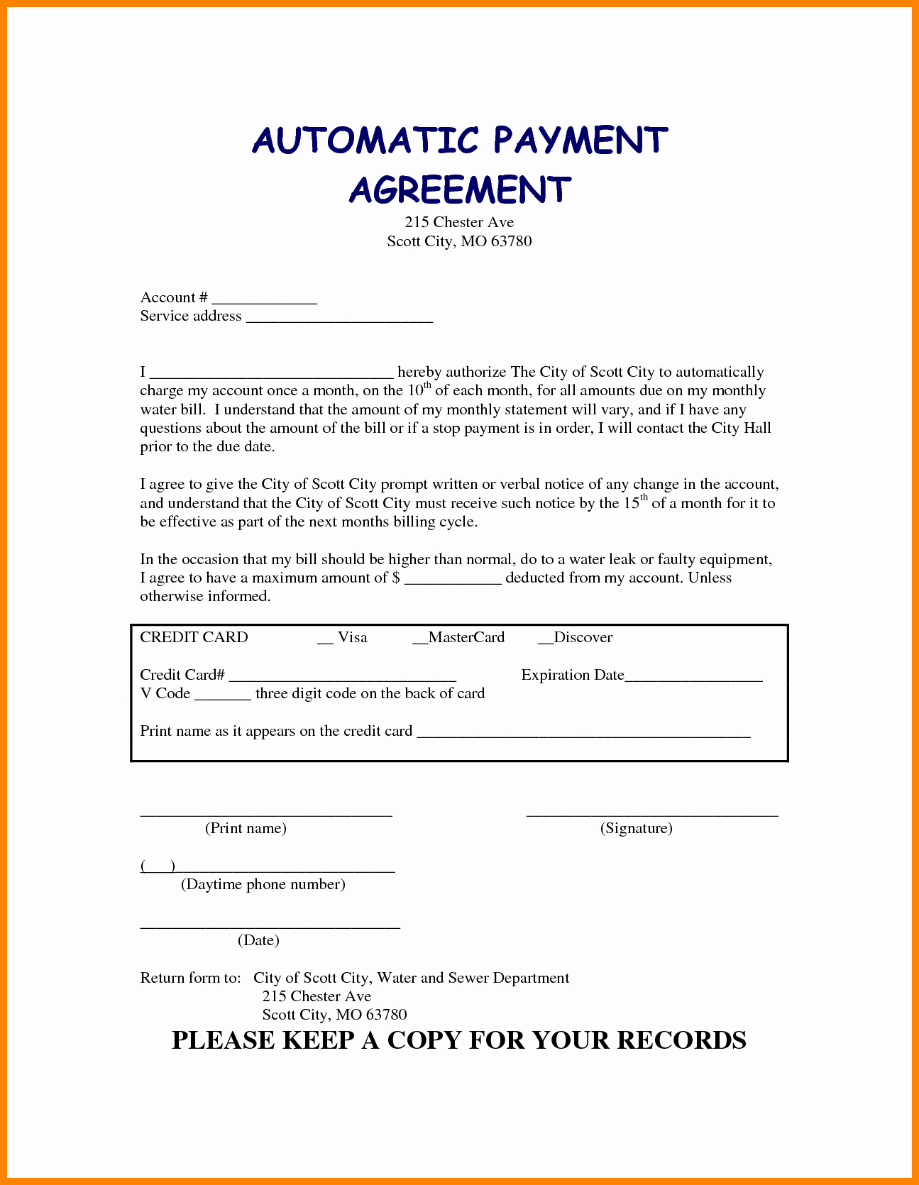 Car Payment Contract Template Beautiful 5 Take Over Car Payment Agreement form