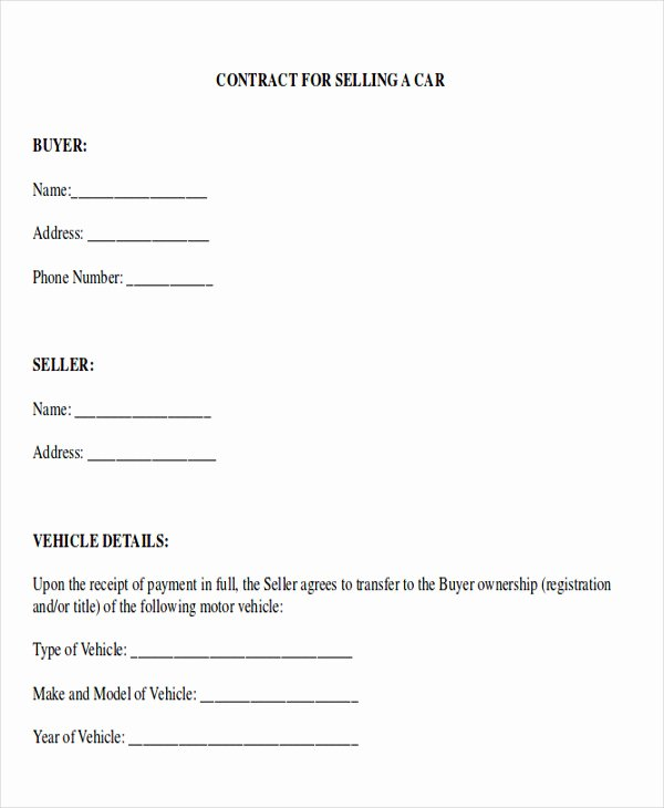 Car Payment Contract Template Elegant Sample Payment Plan Agreement 10 Examples In Word Pdf