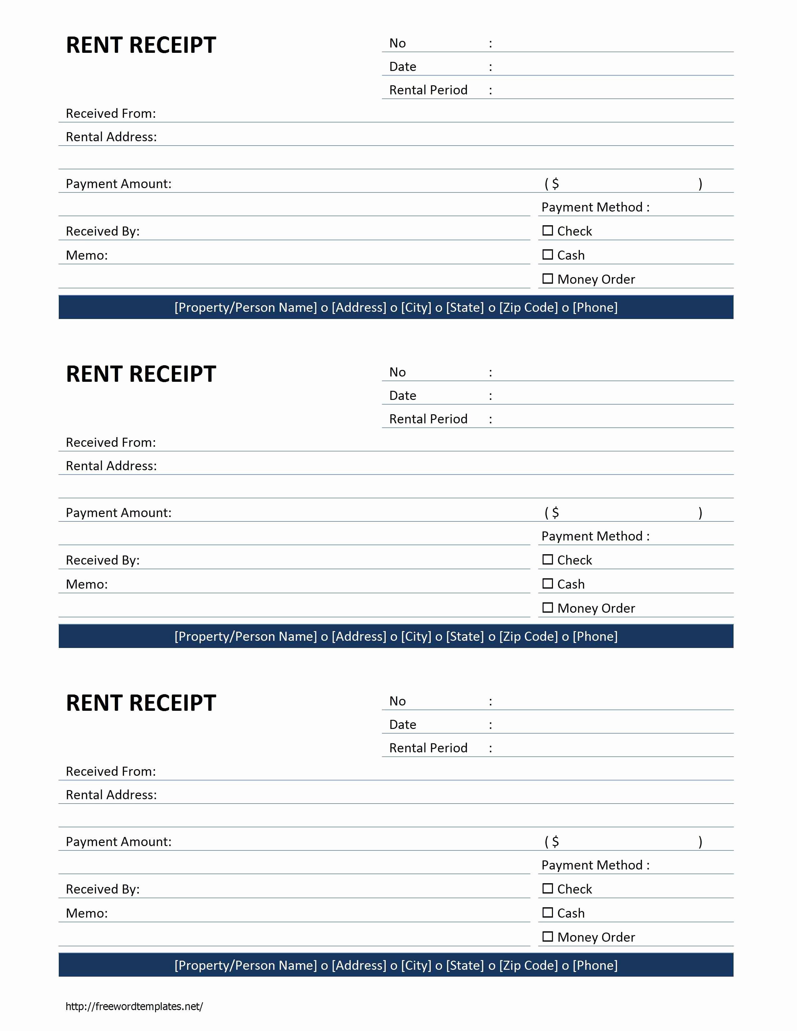 Car Rental Receipt Template Beautiful Free Rent Receipt Free Printable Documents