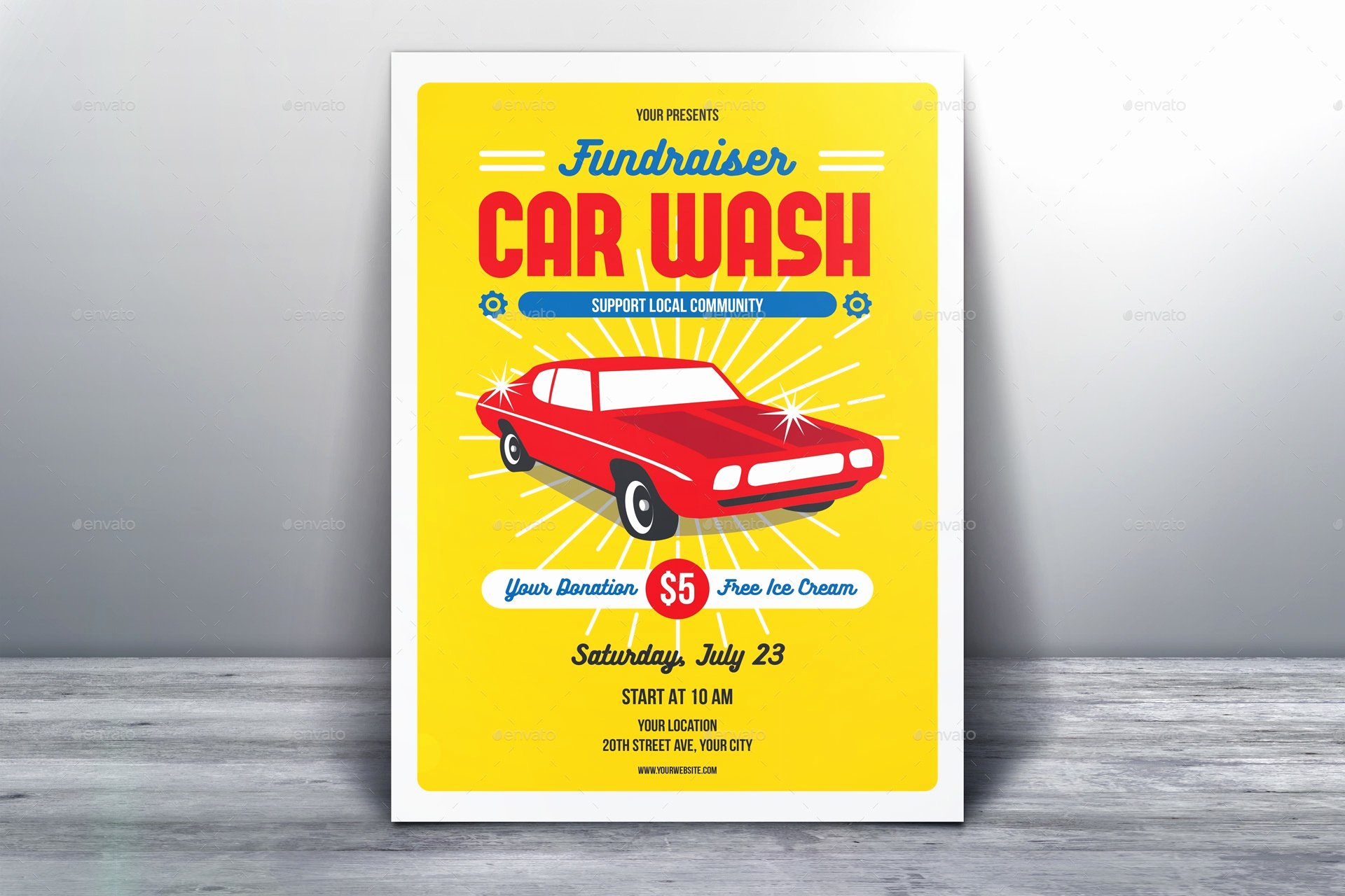 Car Wash Fundraiser Flyers Awesome 39 Elegant Fundraising Flyer Templates Word Psd Ai