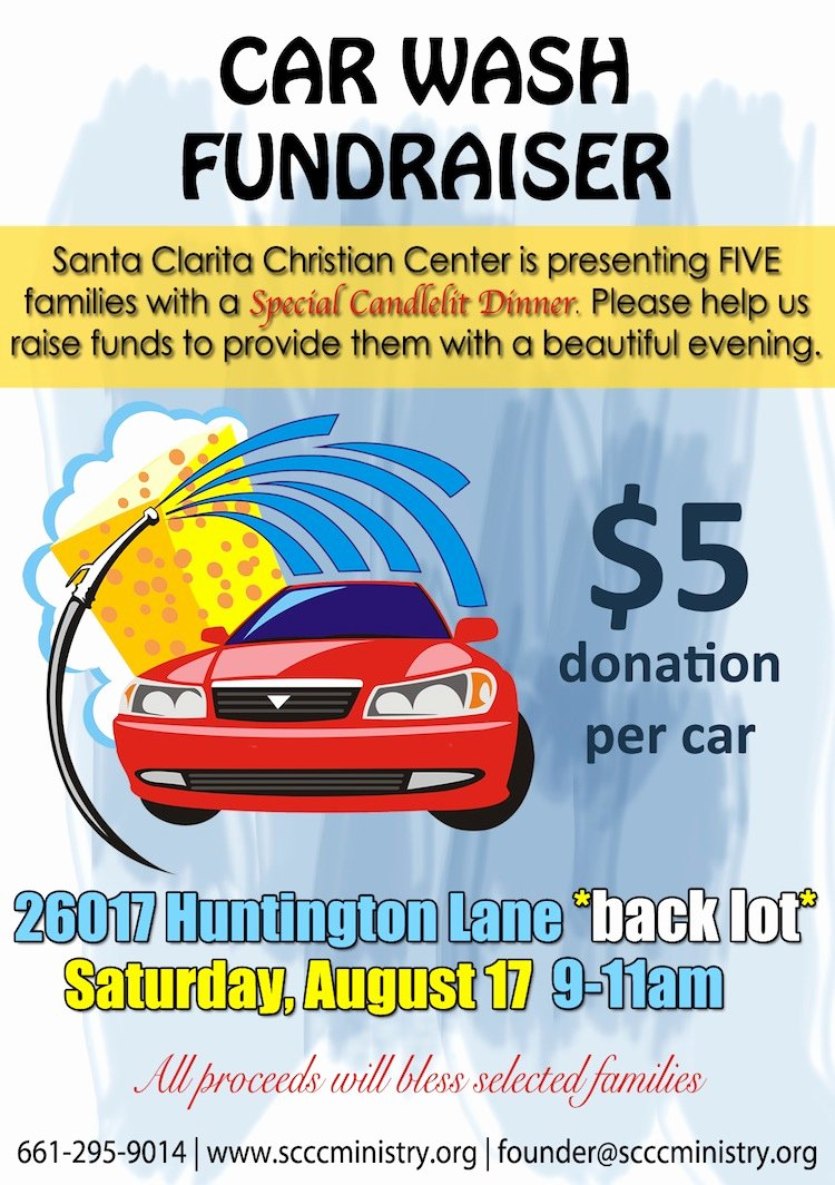 Car Wash Fundraiser Flyers Awesome Special Occasion Candlelit Dinner Tickets Sat Aug 31