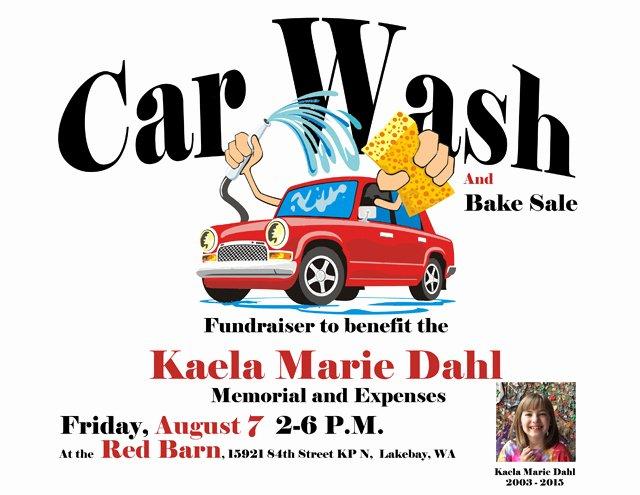 Car Wash Fundraiser Flyers Beautiful Fundraiser by Meredyth Dinniman Help Lay Kaela Marie