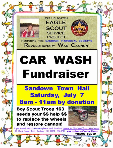 Car Wash Fundraiser Flyers Fresh Patrick Holdgate